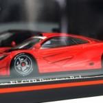 マクラーレン F1 GTR プロトタイプ レッド