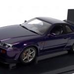 日産 スカイライン GT-R R34 1999 ミッドナイトパープル