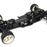 イーグル製 F201 カーボンコンバージョンシャーシ