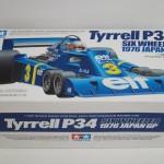 タミヤ タイレル P34 1976 日本GP 未組立品