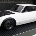 IG0300 IGモデル 1/18 日産 スカイライン 2000 GT-R ホワイト