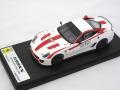 """1/43 フェラーリ 599XX """"VERSIONE CLIENTI"""" Solid White #88"""