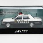 レイズ 1/43 日産セドリック パトカー 2007 警視庁警察隊車 速32