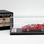 アイドロン 1/43 ランボルギーニ カウンタック LP400S U.S.モディファイド レッド