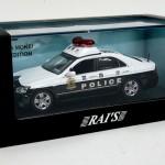 レイズ 1/43 宮沢模型特注 トヨタクラウン GTS180 2010 警視庁地域警ら車両 湾1