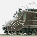 国鉄 EF55形2号機 流線型 旅客用電気機関車