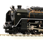 C62 2号機北海道時代 蒸気機関車