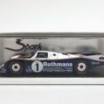 スパーク 1/43 ポルシェ 962 C LMルマン優勝 1986 #1