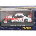 エブロ 1/43 ロックタイト ゼクセル GT-R JGTC2000 #1