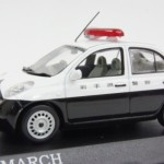 日産 マーチ 岩手県警察車両 2002
