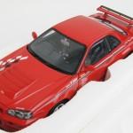 スカイライン GT-R R34 ニスモ Rチューン レッド