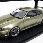 スカイライン GT-R R34 VスペックII ミレニアムジェイド