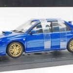 スバル インプレッサ WRX STi 2003 ブルー