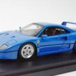 フェラーリ F40 ストリート 後期仕様 1990 ブルー