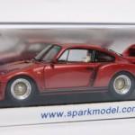 ポルシェ 911 ターボ TAG 1983 メタリックレッド