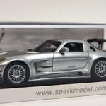 メルセデスベンツ SLS AMG GT3 シルバー