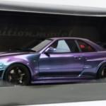 ニスモ R34 GT-R Zチューン ミッドナイトパープルIII
