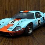 フォード GT40 1969#6 ガルフ ウェザリング仕様