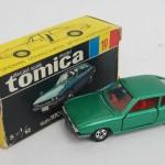 トミカ 黒箱 10 いすゞ 117 クーペ 1800XE 緑 1Hホイール/内装赤 4500円買取!