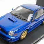 スバル NEW AGE インプレッサ WRX STi 2001 ブルー