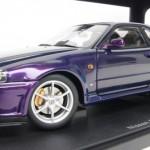 日産 スカイライン GT-R R34 Vスペック パープル