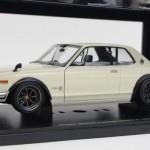 日産 スカイライン ハードトップ 2000 GT-R KPGC10 ホワイト