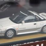 トヨタ MR2 AW11 ホワイト/シルバー