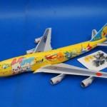 全日空商事/NH20010 1/200 B747-400 ANA/ピカチュウジャンボ JA8957