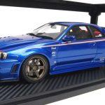 IGモデル IG0010 ニスモ R34 GT-R Z-tune ベイサイドブルー