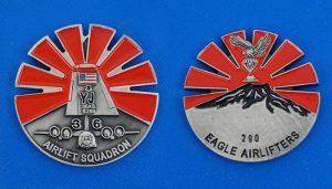アメリカ軍 YJ36AS AIRLIFT SQUADRON