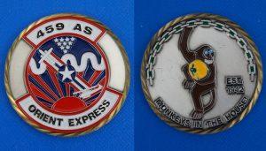 アメリカ軍 第459空輸中隊 ORIENT EXPRESS 横田基地