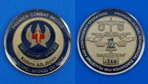 アメリカ軍 18th Aeromedical Evacuation Squadron 嘉手納基地