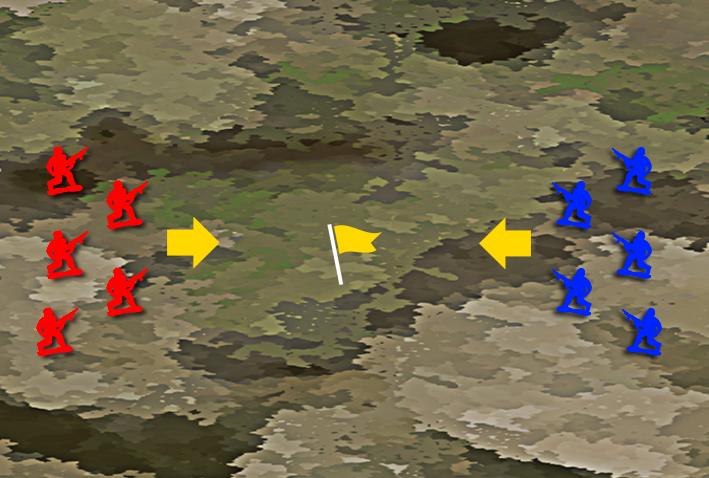 センターフラッグ戦