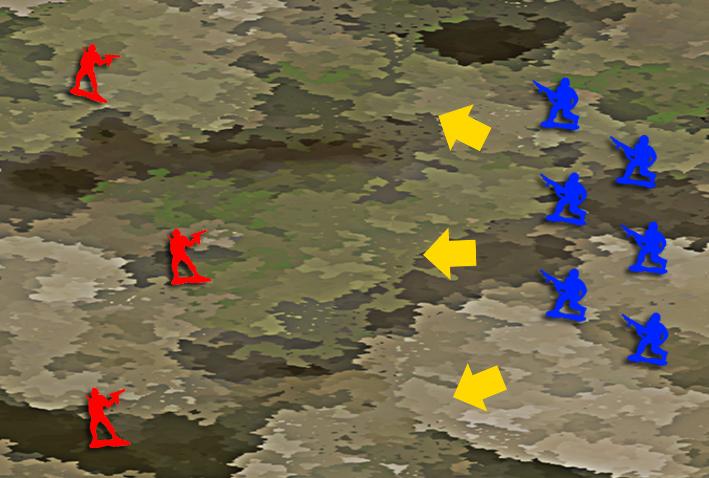 キツネ狩り戦