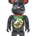 ベアブリック★400% 招き猫 黒